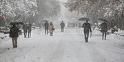 بارش ۴۰ سانتیمتری برف در تهران
