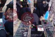 ببینید | اولین تصاویر از سنگ مزار سردار شهید قاسم سلیمانی