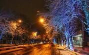 تصاویر | بارش برف در آذربایجانغربی/ بیشترین بارشها در سردشت