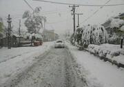 ادامه بارش برف و افت دما در مناطق مختلف کشور