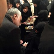 انگشتری که سردار سلیمانی به آیتالله هاشمی هدیه داد + عکس