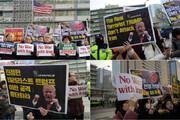 تصویر | تظاهرات کرهایها در حمایت از ایران و اعتراض به ترامپ