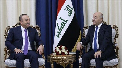 چاوش اوغلو درباره حوادث اخیر با مقامات عراق دیدار کرد