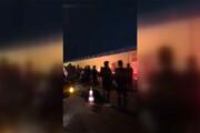 ببینید | دیشب در محل شهادت شهید سلیمانی در فرودگاه بغداد چه گذشت؟