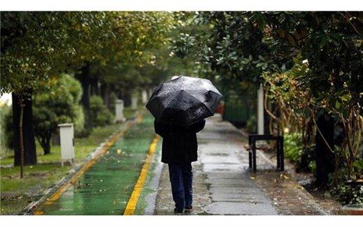 اعلام مناطقی بارانی و برفی کشور