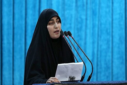 تکذیب صفحه منتسب به دختر سردار شهید سلیمانی در توئیتر