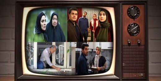 چهرههای سینمایی با سریالهای تلویزیونی میآیند