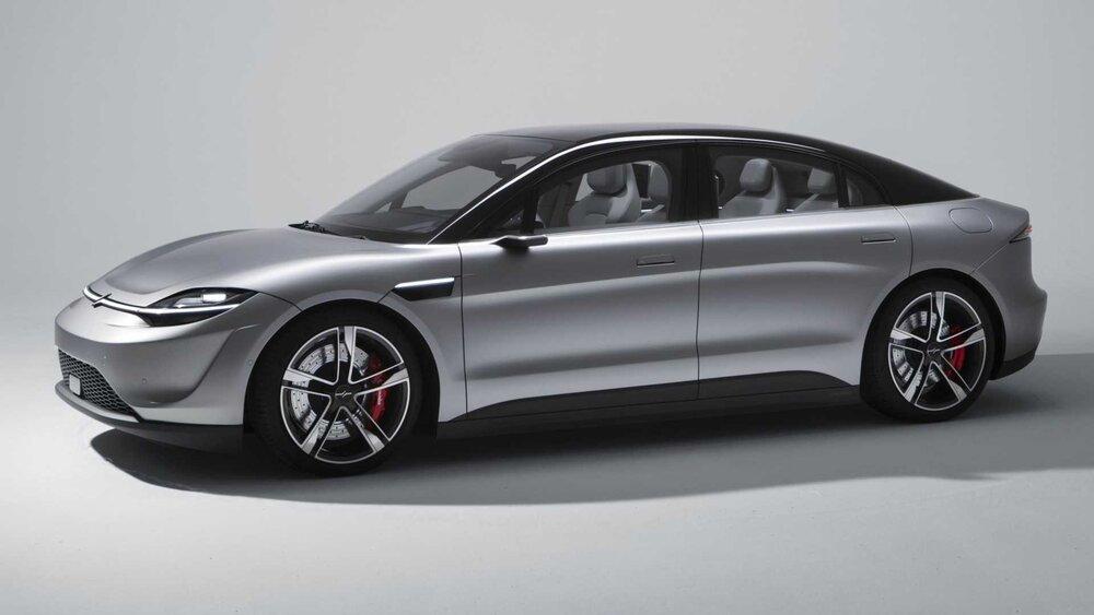 خودروی الکتریکی سونی بهترین سورپرایز نمایشگاه CES