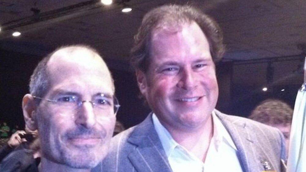 چرا مارک بنیوف دامین اپ استور را به استیو جابز هدیه داد؟