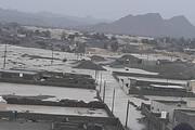 عکس | محاصره چند روستا بر اثر سیل در سیستان