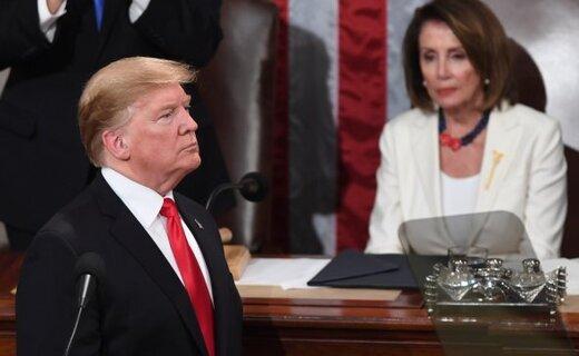 پلوسی: دلایل کافی برای برکناری ترامپ وجود دارد