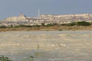 فیلم | طغیان رودخانه خروشان در سیستان و پلوچستان