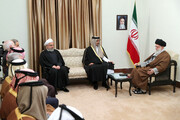 گزارش یک روزنامه کویتی از دلایل سفر امیر قطر به تهران