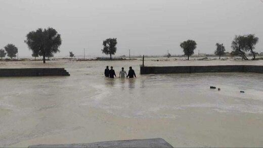 عکسایی ازسیل غافلگیر کنن در سیستان
