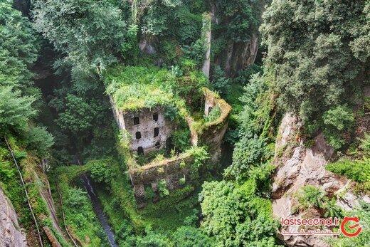 این آثار باستانی توسط طبیعت بلعیده شده اند!