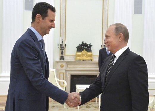 اسد پوتین را در جریان برگزاری انتخابات سوریه قرار داد