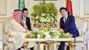 آبه شینزو در دیدار با مقامات سعودی چه درخواستی کرد؟