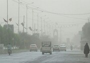 هوا در ۶ شهر خوزستان سالم نیست