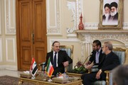 لاریجانی در دیدار نخستوزیر سوریه: هدف حمله موشکی ایران شکستن هیمنه آمریکا بود/ ترور جنایتکارانه آمریکا به قدرتافزایی مقاومت انجامید