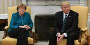 ترامپ و مرکل تلفنی گفتوگو کردند