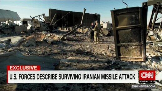 سی ان ان: شدت حمله موشکی ایران دور از انتظار بود