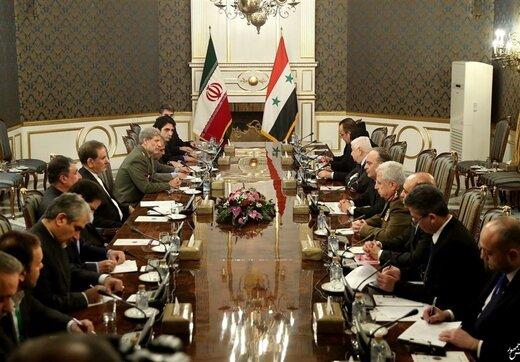 جهانگیری به نخست وزیر سوریه: انتقام واقعی از اقدامات غیرقانونی آمریکا خروج آنها از منطقه است
