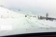 محاصره ۱۴۰ روستای کردستان در برف
