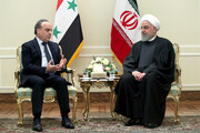 President Rouhani calls for forcing invaders to leave region