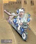 اینم وضعیت ۹میلیون موتورسوار ایرانی!