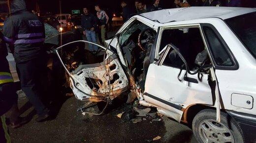 شب تلخ امدادگری که در صحنه تصادف، پیکر مادر و برادرش را یافت