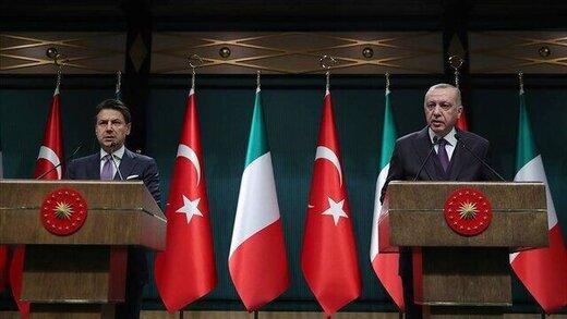 در نشست خبری اردوغان با نخستوزیر ایتالیا چه گذشت؟