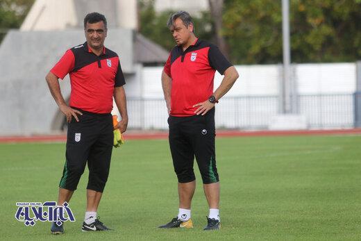 گزارش تصویری تمرین 24 دی تیم ملی امید