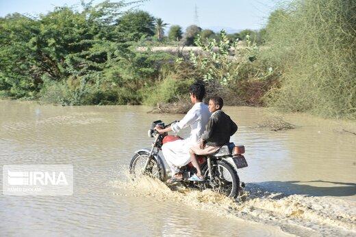 بیش از ۷۸ هزارنفر، ساکن مناطق سیلزده سیستان و بلوچستان