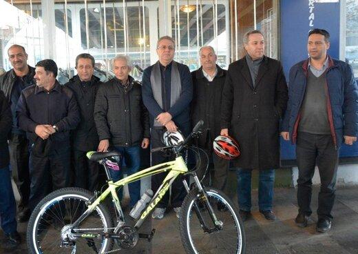 تسهیلات خرید دوچرخه برای کارمندان شهرداری تبریز اعطا می شود