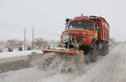 عملیات راهداری زمستانی در ۲۸۶ کیلومتر از راههای استحفاظی استان  سمنان  طی هفته گذشته