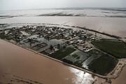ببینید | تصاویر هوایی از جزیره غرقشده جنوب ایران