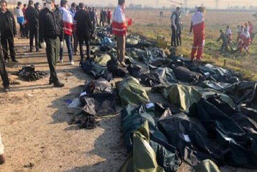 ۱۲۴تن از جانباختگان سقوط هواپیمای اوکراینی شناسایی شدند/ اسامی