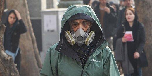 بوی نامطبوع باز هم مناطق تهران را آلوده کرد