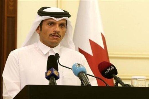 وزیر خارجه قطر وارد بغداد شد