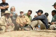 عکس   ناجیان عراق در یک قاب