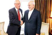 فیلم | محمد جواد ظریف به بورل: هرگز از یک قلدر اجازه نخواهید