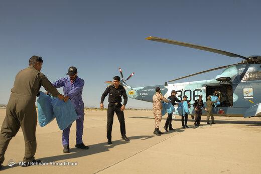 ارتش فدای ملت؛ جزئیاتی از امدادرسانی نیروهای دریایی، زمینی و هوایی ارتش به مردم سیلزده سیستان و بلوچستان/ پدافند هوایی هم وارد میدان شد