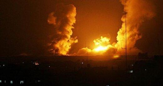 حمله جنگنده های اسرائیلی به غزه