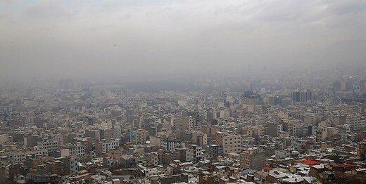 هوای تهران امروز هم ناسالم است؟