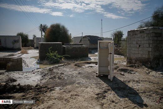 بلایی که سیل برسر روستاهای سیستان وبلوچستان آورد