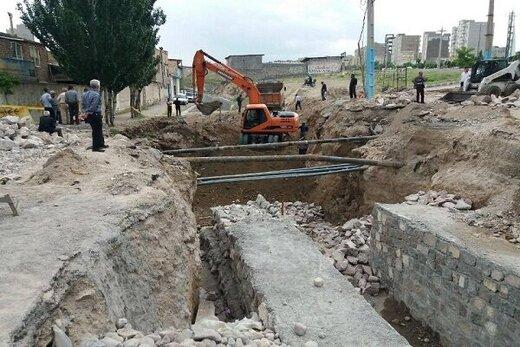 امسال ۶۹ کانال هدایت آبهای سطحی در تبریز احداث یا اصلاح شده است