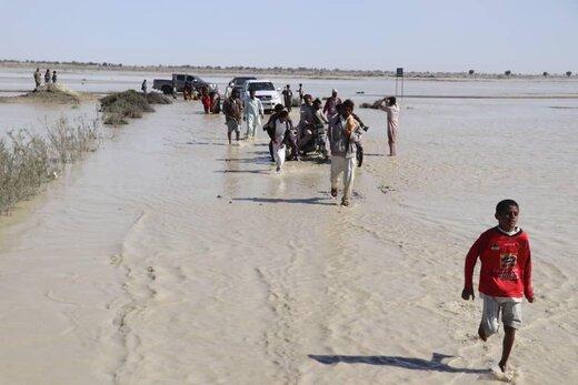 تصاویر مازیار ناظمی از کودکان مظلوم سیل زده سیستان و بلوچستان