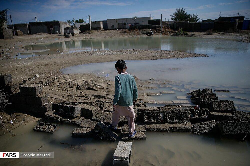 یک هفته بعد از سیل؛ سیستان و بلوچستان درگیر سیلاب