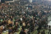 ببینید | همین حالا ؛ مصلی نماز جمعه ، ورودیها پر از جمعیت