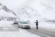 جادههای این استانها برفی است/ لزوم تردد با زنجیر چزخ در برخی جادهها